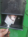 Почтовый ящик Vita цвет чёрный Почтальон Печкин, фото 6