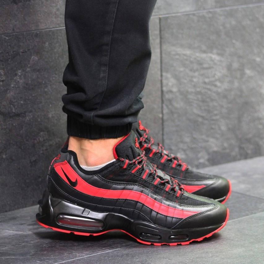 Nike Air Max 95 Black Red  (в стиле nike)