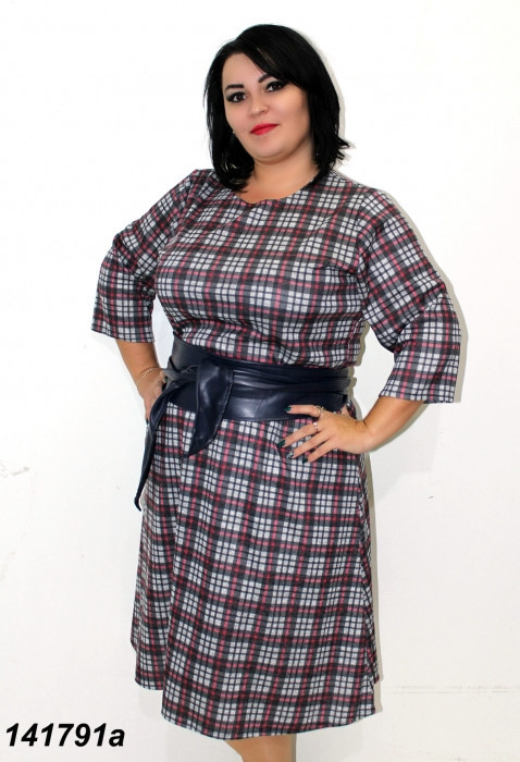 Платье из ангоры большого размера 58,60,62,64