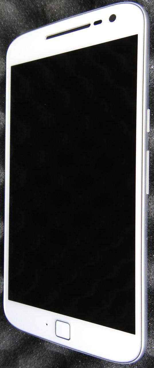 New. Motorola G XT1642 дисплей (модуль) в рамке White