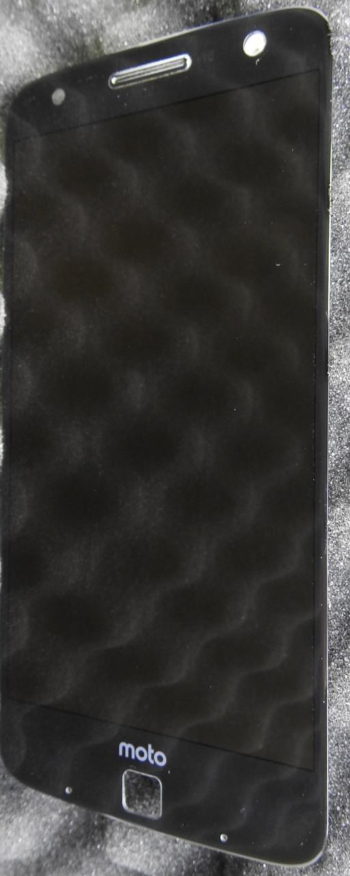 New. Motorola Z XT1650 дисплей (модуль) в корпусе Черный