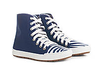 Синие ботинки Меган