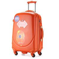 Набор из 3 оранжевых чемоданов Ambassador Classic A8503