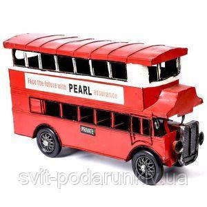 Модель двухэтажого автобуса - фото