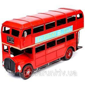 Модель лондонского автобуса - фото