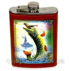 Фляга для алкоголя рыбака - фото
