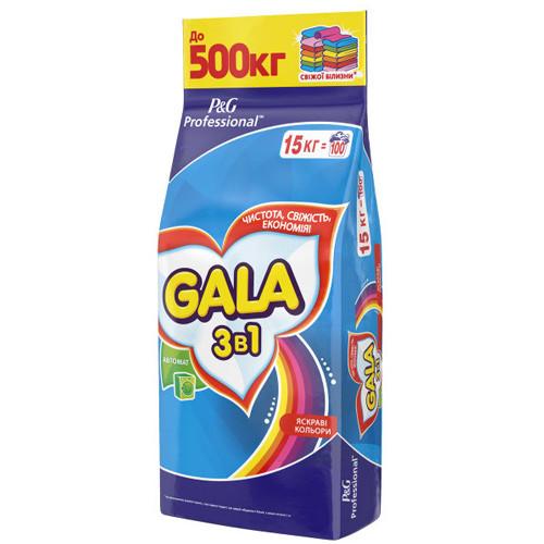 Стиральный порошок ГАЛА автомат  Колор 15кг мешок