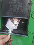 Почтовый ящик Vita цвет коричневый Герб Голубь, фото 7