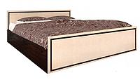 """Спальня, Спальный гарнитур """"Ким"""" Кровать 2сп (1,6м., св. венге)"""
