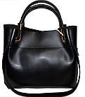Женская черная сумка с клачем Michael Kors (24*28*14) , фото 2