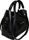 Женская черная сумка с клачем Michael Kors (24*28*14) , фото 3