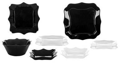 Сервиз столовый Authentic Black&White 19 предметов Luminarc E6195