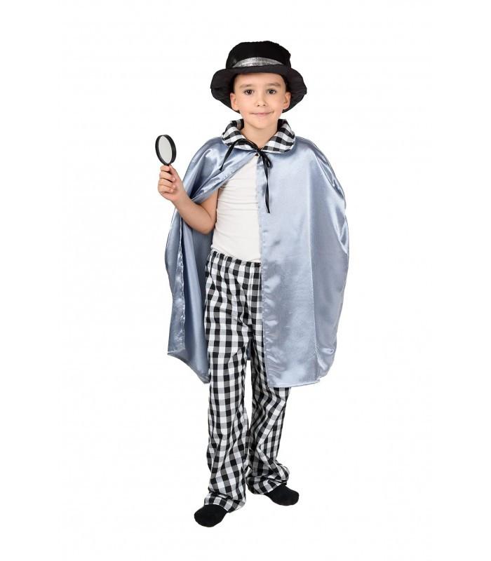 Карнавальный костюм СЫЩИК, ДЕТЕКТИВ, СЛЕДОВАТЕЛЬ 4,5,6,7,8,9 лет детский маскарадный костюм СЫЩИКА, ДЕТЕКТИВА