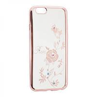 Чехлы BeckBerg Силиконовый чехол на iPhone 7 Plus/8 Роза