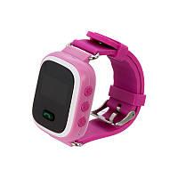 Детские смарт-часы Q60 с GPS Розовые (11053), фото 1