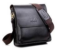 Мужская сумка POLO Videng Classic Коричневая (PL02)
