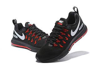 Кроссовки Nike Zoom Pegasus 33 Black Red Черные мужские