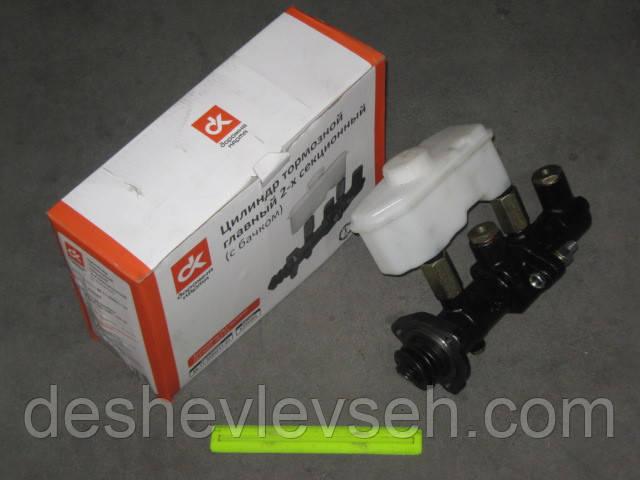 Циліндр гальмівний головний ГАЗ-53 2-секц. з бачком, 66-11-3505211-01 (ДорожнаяКарта)