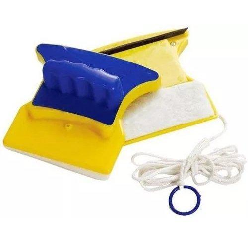 Магнитная щетка для окон Glass Wiper Желтый