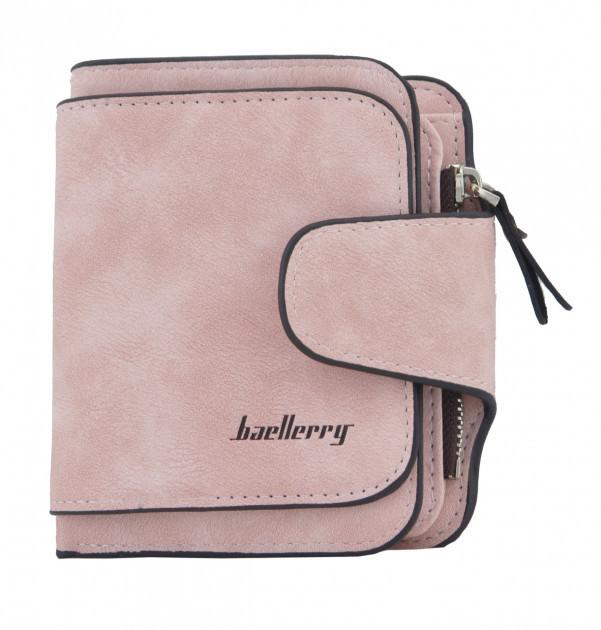 Женское портмоне Baellerry Forever Mini 2346 Светло-розовый (ID10)