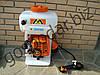 Мотоопрыскиватель садовый Agrimotor 3W-650 бензиновый опрыскиватель