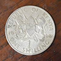Кения 1 шиллинг 1968 г .