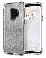 Чехол Spigen для Samsung S9 Ciel by CYRILL Colette Luxurious Design, Silver Glitter, фото 1