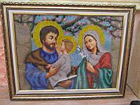"Картина из бисера ""Святое семейство"" (ручная работа), 1000"