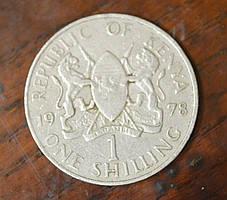 Кения 1 шиллинг 1978 г .