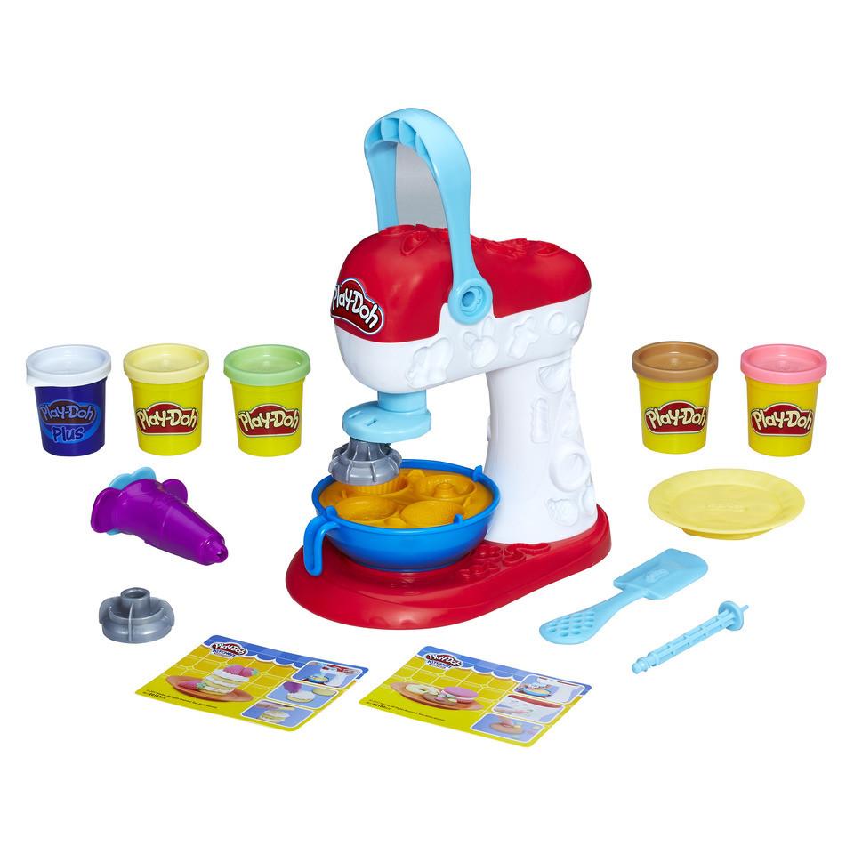 Плей До Миксер для конфет игровой набор Play-Doh Kitchen Creations Spinning Treats Mixer Hasbro E0102