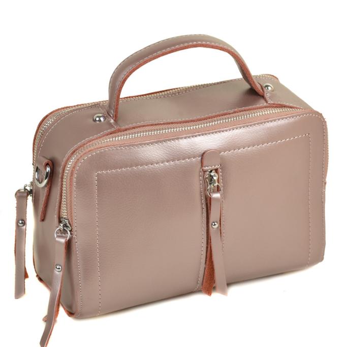 Женский кожаная сумка клатч 7-02 9119-1 gold-powder Женская кожаная сумка,  кожаный женский клатч 64829ba9949