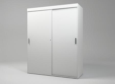 Шкаф-купе гардеробный офисный KBS