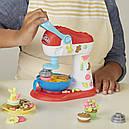 Плей До Миксер для конфет игровой набор Play-Doh Kitchen Creations Spinning Treats Mixer Hasbro E0102, фото 7