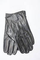 Оригинальные мужские перчатки из натуральной кожи