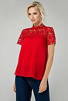 Женская шифоновая блузка Большие размеры  42-56
