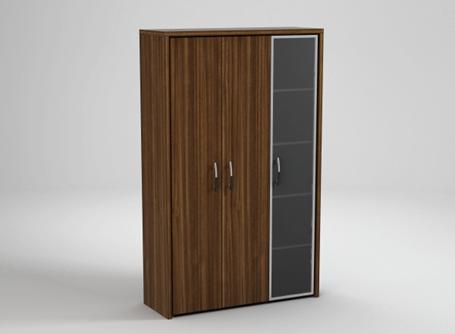 Шкаф с гардеробной секцией Статус