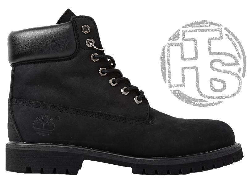 Мужские Ботинки Timberland Classic Boots Black Winter (с Мехом) — в ... 700cab29c0ba9