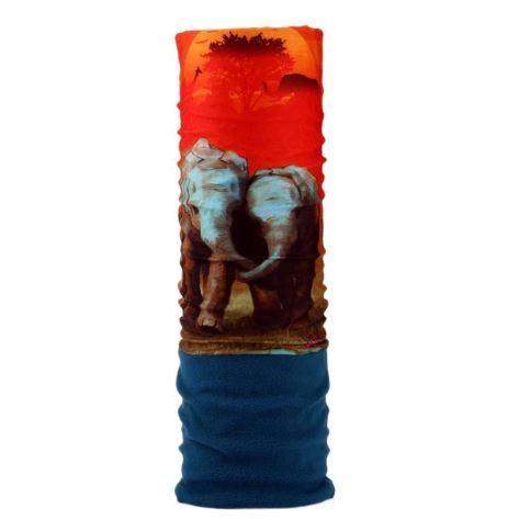 Теплый бафф-шарф C.GREE (ELEPHANTS)