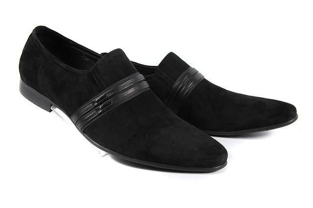 Мужские замшевые туфли Vitto Rossi 1002-13-B05  44  черный