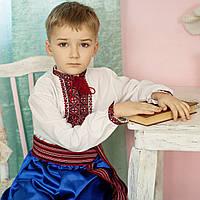Вишиванка для хлопчика (1-14років, ручна вишивка)