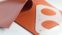 Силиконовая пластина термостойкая (толщина 10,0 мм), фото 1