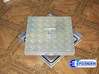 Напольный люк под ковролин и ковровую плитку