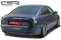 Накладка на задний бампер Audi A6 C5 Юбка Ауди А6 Ц5