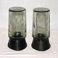 Плафон цилиндрический закрытый прозрачный с цоколем