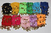 Юбка платок для восточных танцев Монеты