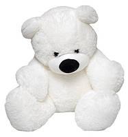 Мягкий Плюшевый Медведь Бублик 110 см белый