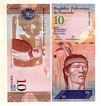 Венесуела 10 болівар стан UNS
