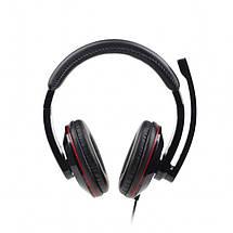 Наушники с микрофоном Gembird MHS-U-001 Black, USB 2.0, гарнитура, фото 3
