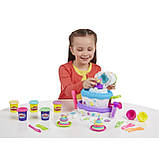 Пластилин Play Doh Праздничный торт от hasbro, фото 3