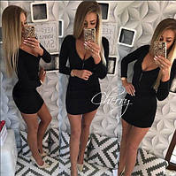 Платье / трикотаж джерси / Украина 28-105